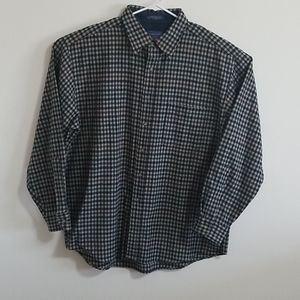 Pendleton virgin wool flannel xl